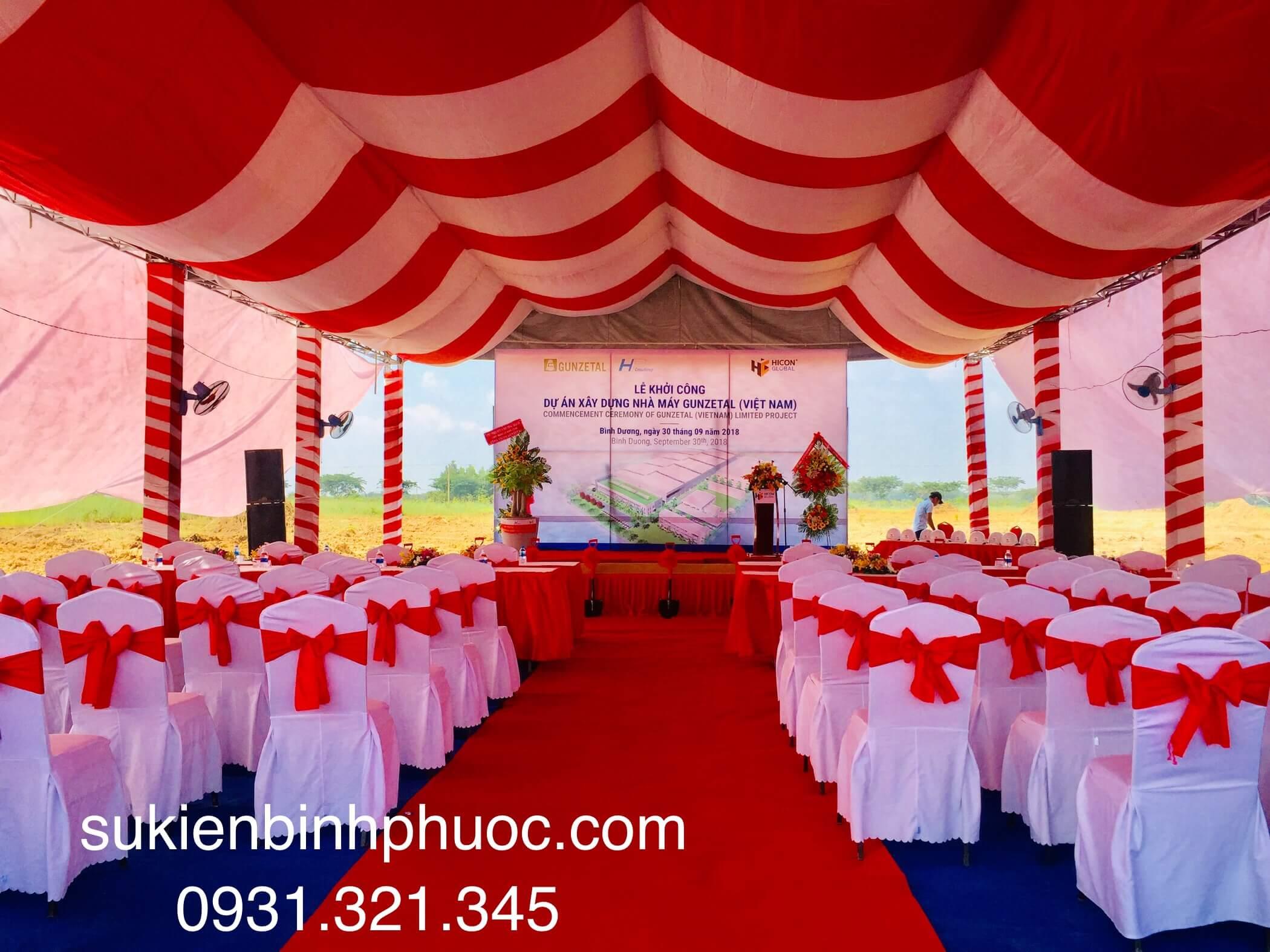 Tổ chức sự kiện Bình Phước - Uy Tín - Chuyên Nghiệp